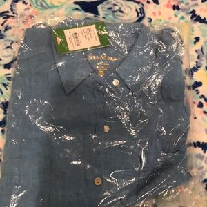 NWT lilly pulitzer seaview button down